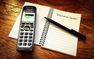 phone and notepad