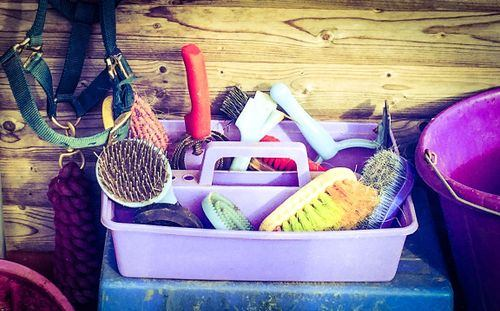 need for a horse groom kit