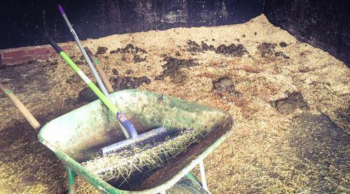need for a horse yard muck tools