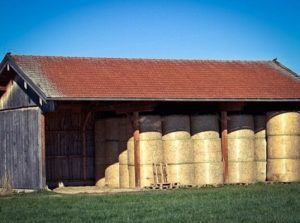 Stable Yard Design Hay Barn